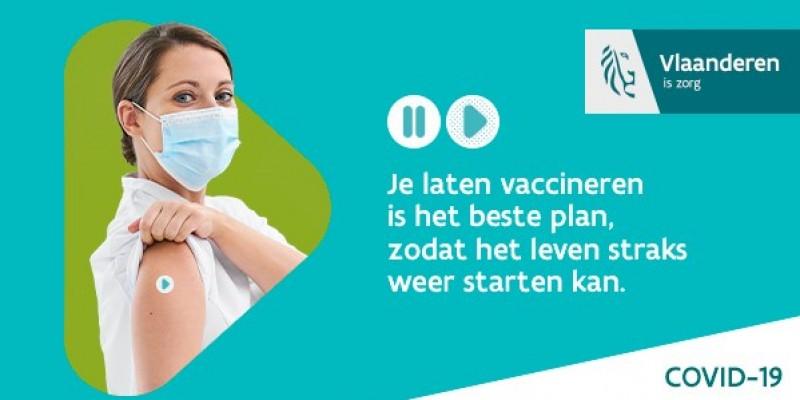 Laat je vaccineren tegen COVID-19